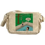 Life Saving Messenger Bag