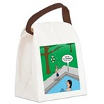 Life Saving Canvas Lunch Bag
