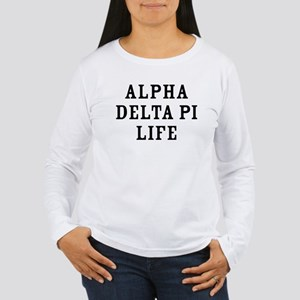 Alpha Delta Pi Life Women's Long Sleeve T-Shirt