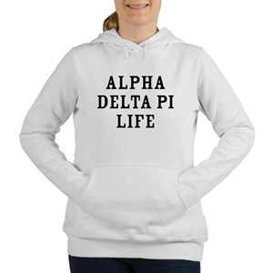 Alpha Delta Pi Life Women's Hooded Sweatshirt