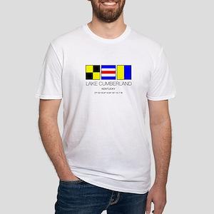 Lake Cumberland Kentucky Nautical Flag T-Shirt