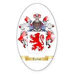 Talbot Sticker (Oval 10 pk)