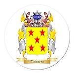 Talavera Round Car Magnet