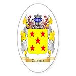 Talavera Sticker (Oval 50 pk)