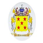 Talavera Oval Ornament