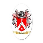 Taillefer Oval Car Magnet