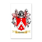 Taillefer Rectangle Car Magnet