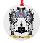 Tagg Round Ornament