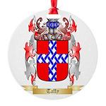 Taffy Round Ornament