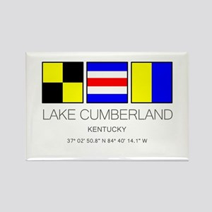 Lake Cumberland Kentucky Nautical Flag Magnets