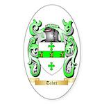 Taber Sticker (Oval 50 pk)