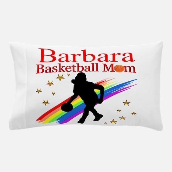 BASKETBALL MOM Pillow Case