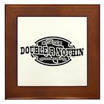 DrN Minimal Logo 01 Framed Tile