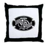 DrN 2 Color Logo Throw Pillow