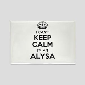 I can't keep calm Im ALYSA Magnets