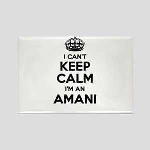 I can't keep calm Im AMANI Magnets