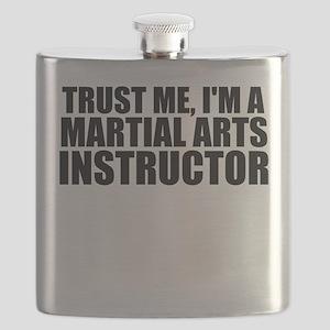 Trust Me, I'm A Martial Arts Instructor Flask