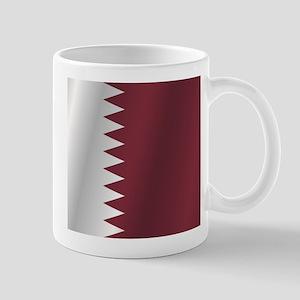 Qatar flag Mugs