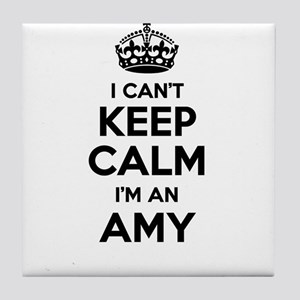 I can't keep calm Im AMY Tile Coaster