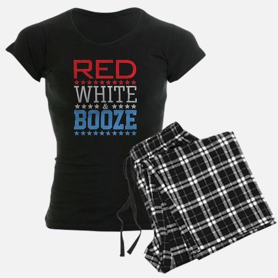 Red White And Booze Pajamas