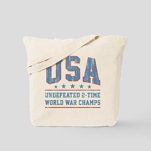 USA World War Champs Tote Bag