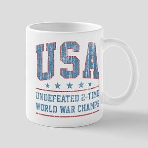 USA World War Champs Mugs