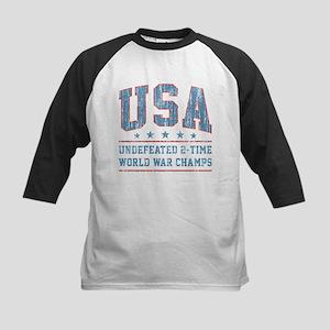 USA World War Champs Baseball Jersey