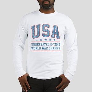 USA World War Champs Long Sleeve T-Shirt