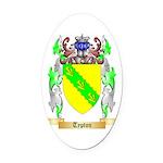 Typton Oval Car Magnet