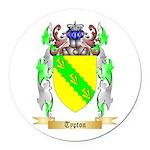 Typton Round Car Magnet