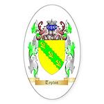 Typton Sticker (Oval 50 pk)
