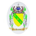 Typton Oval Ornament