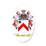 Tyer Oval Car Magnet