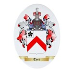Tyer Oval Ornament