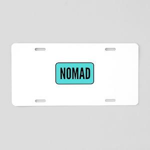 Nomad Aluminum License Plate