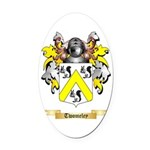 Twomeley Oval Car Magnet