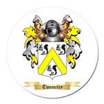 Twomeley Round Car Magnet