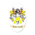 Twombley Oval Car Magnet