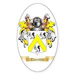 Twombley Sticker (Oval 10 pk)