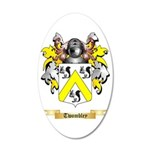 Twombley 35x21 Oval Wall Decal