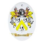 Twombley Oval Ornament