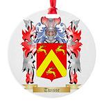 Twisse Round Ornament