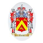 Twiss Oval Ornament