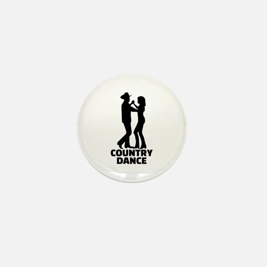 Country dance Mini Button