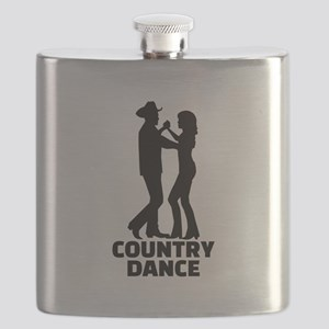 Country dance Flask