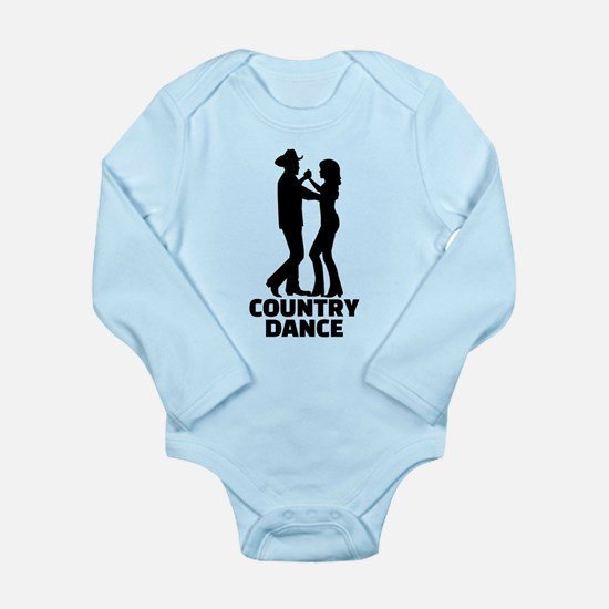 Country dance Long Sleeve Infant Bodysuit