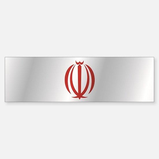 Unique Iran flag Sticker (Bumper)