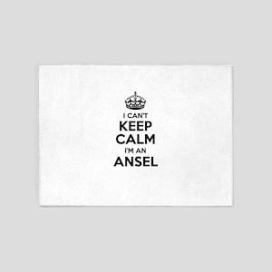 I can't keep calm Im ANSEL 5'x7'Area Rug