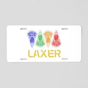 LAXER Aluminum License Plate