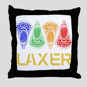 LAXER Throw Pillow